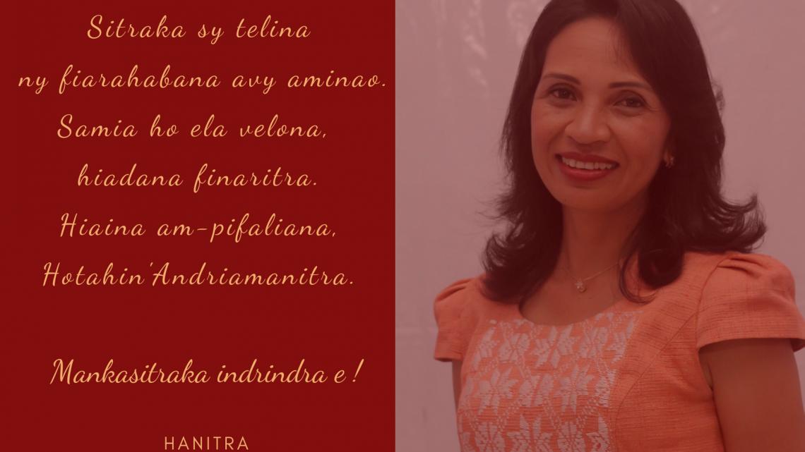 FISAORANA AVY AMIN-DRTOA FILOHA HANITRA ANDRIAMBOAVONJY